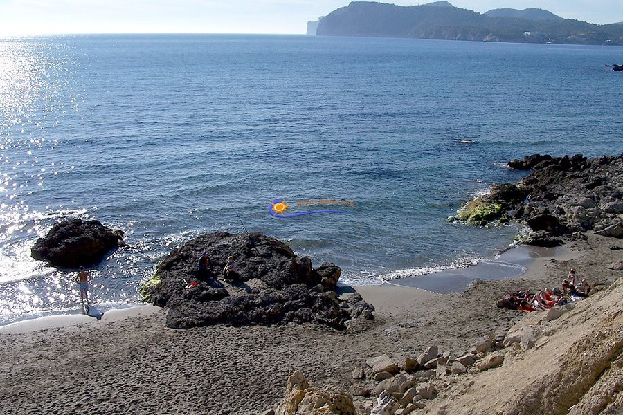Small sandy cove near Costa de la Calma